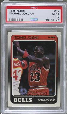 1988-89 Fleer - [Base] #17 - Michael Jordan [PSA 9 MINT]