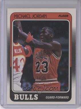1988-89 Fleer - [Base] #17 - Michael Jordan