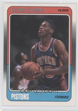 1988-89 Fleer - [Base] #43 - Dennis Rodman