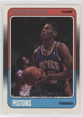 1988-89 Fleer - [Base] #43 - Dennis Rodman