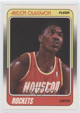 1988-89 Fleer - [Base] #53 - Akeem Olajuwon