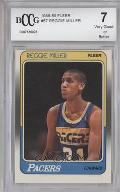 1988-89 Fleer - [Base] #57 - Reggie Miller [ENCASED]
