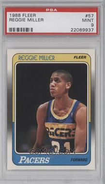 1988-89 Fleer - [Base] #57 - Reggie Miller [PSA 9]