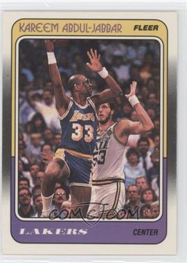 1988-89 Fleer - [Base] #64 - Kareem Abdul-Jabbar