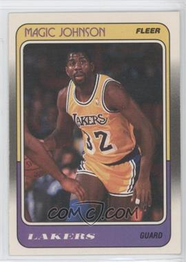 1988-89 Fleer - [Base] #67 - Magic Johnson