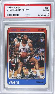 1988-89 Fleer - [Base] #85 - Charles Barkley [PSA 9]