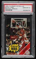 Michael Jordan (Rules Card) [PSA10GEMMT]