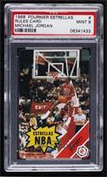 Michael Jordan (Rules Card) [PSA9MINT]