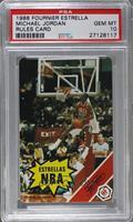 Michael Jordan (Rules Card) [PSA10]