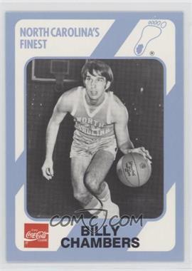 1989-90 Collegiate Collection/Coca-Cola North Carolina's Finest - [Base] #190 - Bill Chamberlain