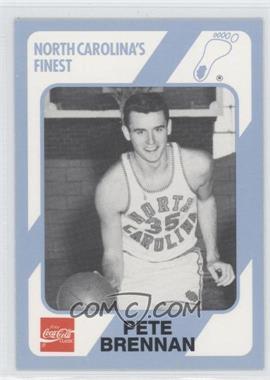 1989-90 Collegiate Collection/Coca-Cola North Carolina's Finest - [Base] #79 - Pete Brennan