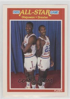 the best attitude dea84 f1274 1989-90 Fleer - [Base] #164 - All-Star Game - Hakeem ...