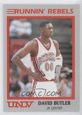 1989-90 Hall of Fame Cards UNLV Runnin' Rebels - [Base] #5 - David Butler
