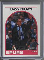 Larry Brown [JSA Certified Auto]