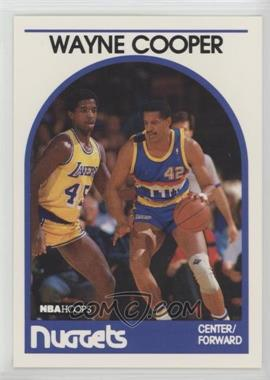 1989-90 NBA Hoops - [Base] #122 - Wayne Cooper