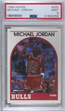 1989-90 NBA Hoops - [Base] #200 - Michael Jordan [PSA9MINT]