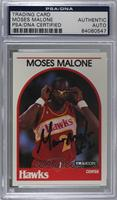 Moses Malone [PSA/DNACertifiedEncased]