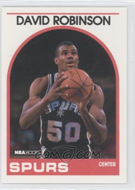 1989-90 NBA Hoops - [Base] #310 - David Robinson