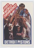 1989 World Champions! (Detroit Pistons Team)