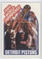 1989 World Champions! (Detroit Pistons Team)