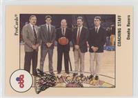Kent Shadden, Dean Thompson, Mike Thibault, Randy Ecker, Dodd Cox