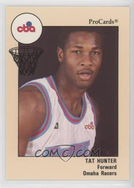 1989-90 ProCards CBA - [Base] #69 - Tat Hunter