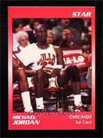 Michael Jordan (Red Border Jordan Sitting)