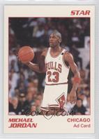 Michael Jordan (White Border, Red Ink)
