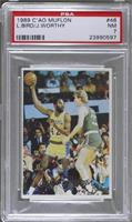Larry Bird, James Worthy [PSA 7]
