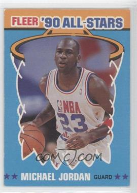 1990-91 Fleer - All-Stars #5 - Michael Jordan