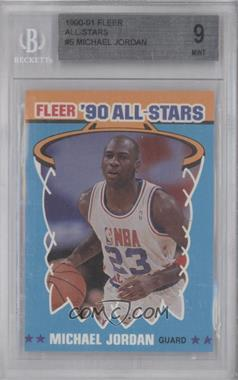 1990-91 Fleer - All-Stars #5 - Michael Jordan [BGS 9]