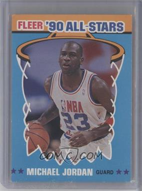 1990-91 Fleer - All-Stars #5 - Michael Jordan