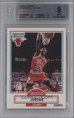 1990-91 Fleer - [Base] #26 - Michael Jordan [BGS 9]