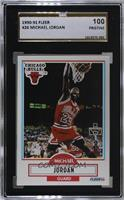 Michael Jordan (Black Line Under Biographical Information) [SGC 10 PR…