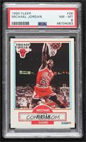 Michael Jordan (Black Line Under Biographical Information) [PSA 8 NM&…