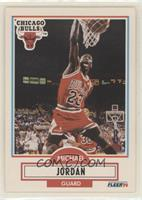 Michael Jordan (Black Line Under Biographical Information)