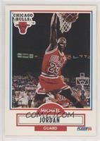 Michael Jordan (No Black Line Under Biographical Information)