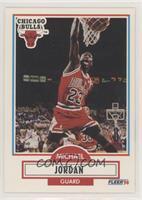 Michael Jordan (No Black Line Under Biographical Information)