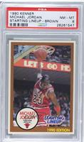 Michael Jordan (Brown Border) [PSA 8]