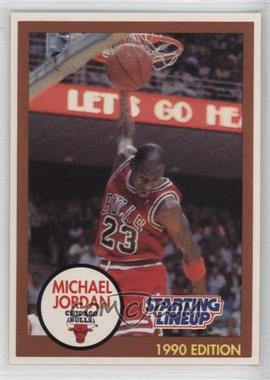 1990-91 Kenner Starting Lineup - [Base] #MIJO.1 - Michael Jordan (Brown Border)