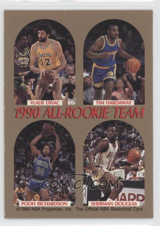 1990 91 Nba Hoops All Rookie Team Na David Robinson Vlade