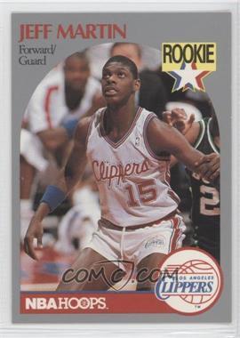 1990-91 NBA Hoops - [Base] #148 - Jeff Martin