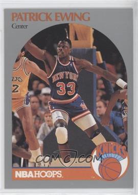 1990-91 NBA Hoops - [Base] #203 - Patrick Ewing