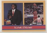 Super Streaks (Magic Johnson, Michael Jordan)