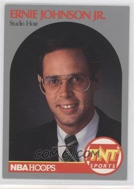 1990-91 NBA Hoops Announcers - [Base] #ERJO - Ernie Johnson Jr.