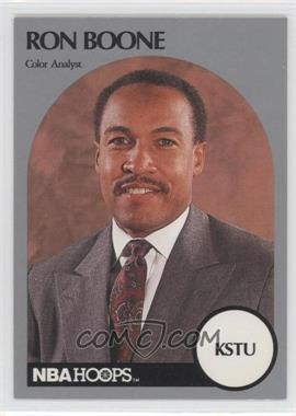 1990-91 NBA Hoops Announcers - [Base] #ROBO - Ron Boone
