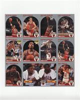 Scottie Pippen, John Paxson, Michael Jordan, Cliff Levingston, B.J. Armstrong, …