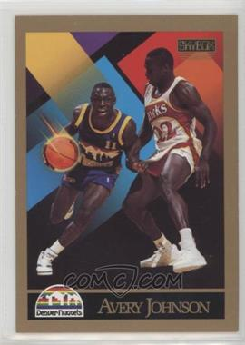 1990-91 Skybox - [Base] #380 - Avery Johnson