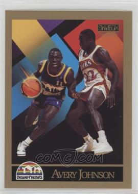 1990-91 Skybox - [Base] #380 - Avery Johnson