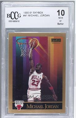 1990-91 Skybox - [Base] #41 - Michael Jordan [ENCASED]
